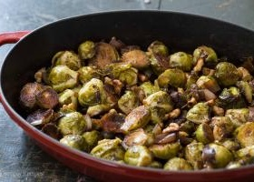 Hoisin Glazed Brussels Sprouts Recipe